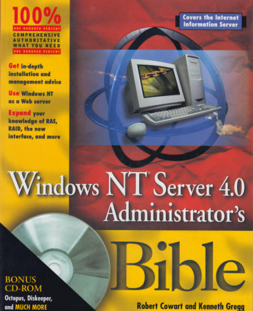 Windows NT Server 4.0 Administrator's Bible - Studies Applications Center E-shop